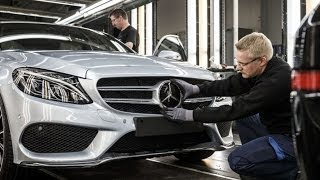 2014 Mercedes C Class Production Process