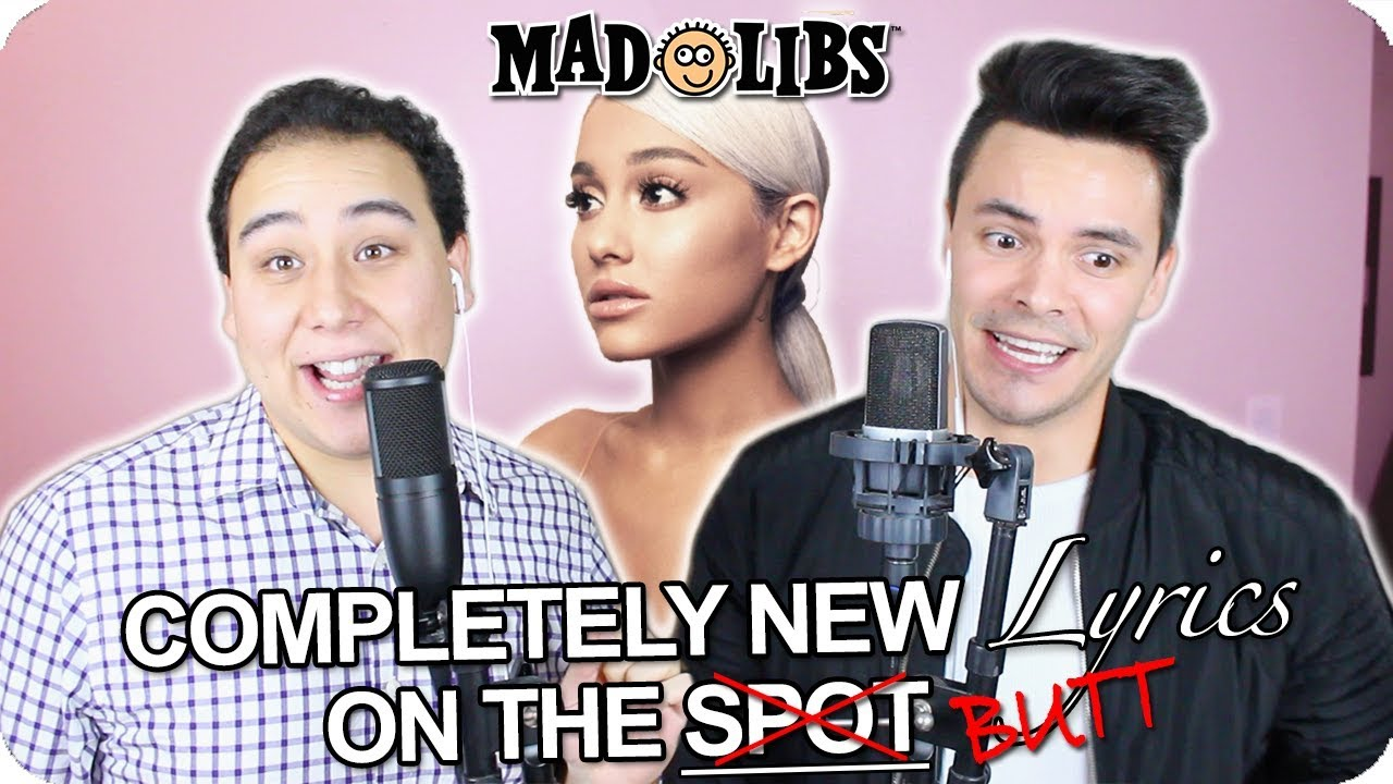 Ariana Grande 7 Rings Madlibs Cover Live One Take