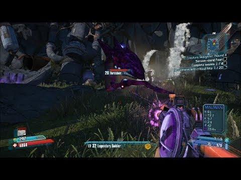 Borderlands 2 Walkthrough: Creature Slaughter - Round 4 |