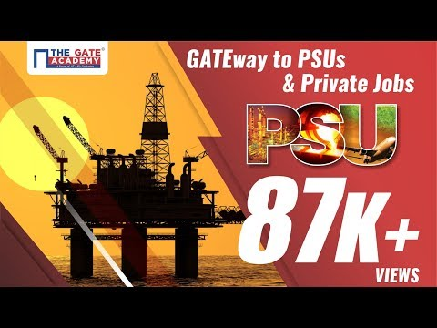 GATE way to PSU and Private Jobs | GATE Exam