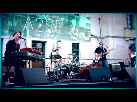 "Al Hill & The Love Butlers at the Ann Arbor Summer Festival ""Lotta Yer Love"""