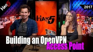 How to Build An OpenVPN Access Point - Hak5 2017