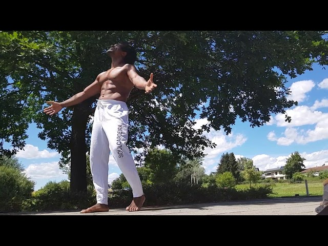 Body control Capoeira training Gugu Quilombola