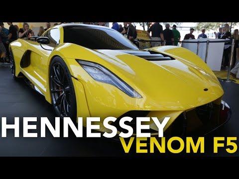 Hennessey Venom F5 First Look, 1,600 HP! | 2017 SEMA Show