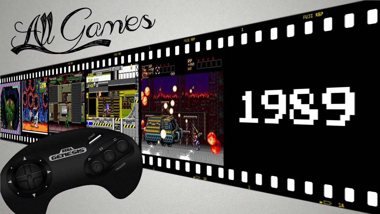 все игры на Sega Mega Drive All Games Sega Genesis 1989