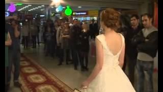 Показ свадебных платьев салона Айвори 2014 года. Интервью директора Юлии Степановой.