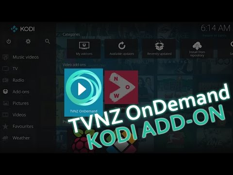 TVNZ OnDemand New Zealand KODI Add-on