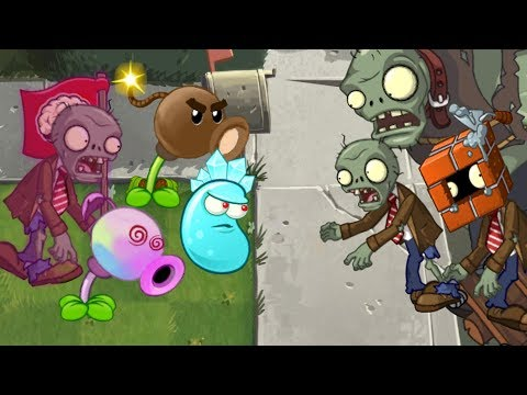 Plants vs. zombies 2 ANIMATION New plants (PVZ 2 Cartoon)