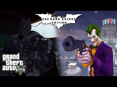 GTA 5: The Dark Knight Edition Part 6 (GTA V PC Mods)