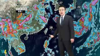 預報2019-07-17農業氣象,掌握氣象、掌握農事!