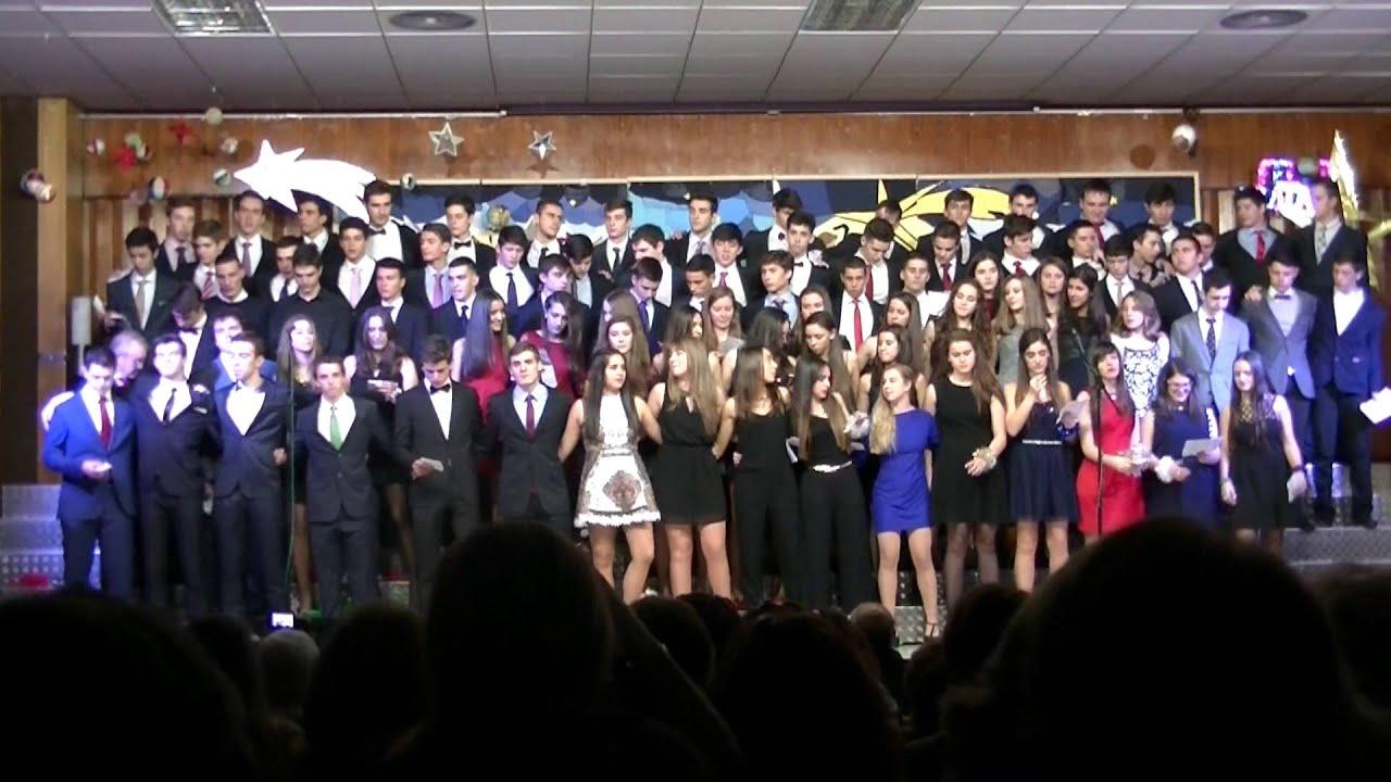 Canci n de navidad villancicos 2014 2 bachillerato - Colegio escolapias madrid ...