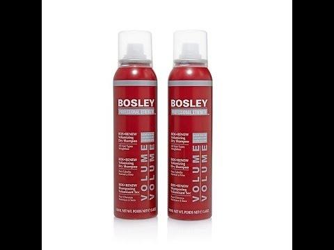 Bosley Pro BosRenew Volumizing Dry Shampoo 2pack