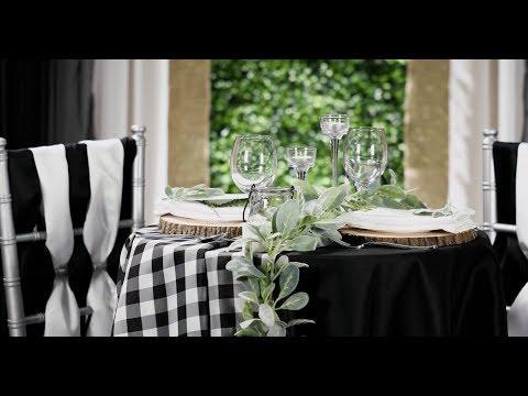 gingham-&-greenery-sweetheart-table-decor-(wedding-diy!)
