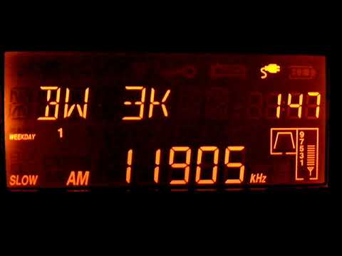 Sri Lanka Broadcasting Corporation 11905 KHz