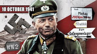 An Open Road to Moscow! - WW2- 111- October 10, 1941