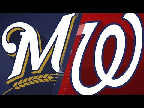 Nationals rally in 8th for 5-4 win: 9/1/18