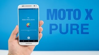 Moto X Pure Edition Unboxing & Impressions!