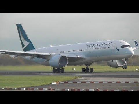 Autumn Plane Spotting at Manchester Airport, RW23R Landings & Take offs!