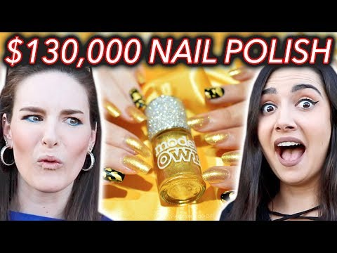 $130,000 NAIL POLISH?! WTF! ft. Safiya Nygaard