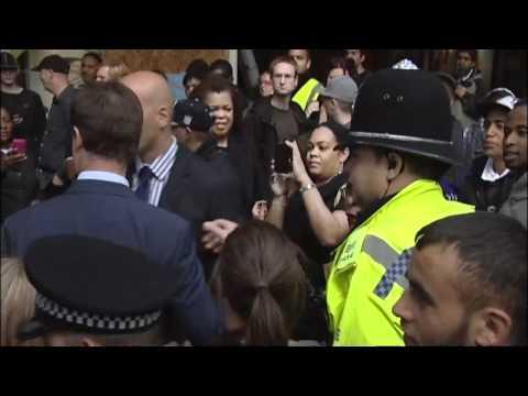 Clegg booed on Birmingham riot tour