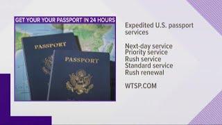 FedEx offering exposited US passport services