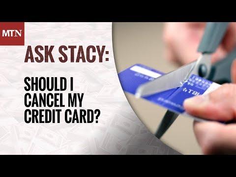 Should I Cancel My Credit Card?