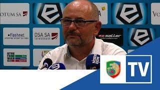 Miedź TV:  Konferencja prasowa po meczu Wisła Płock -  Miedź