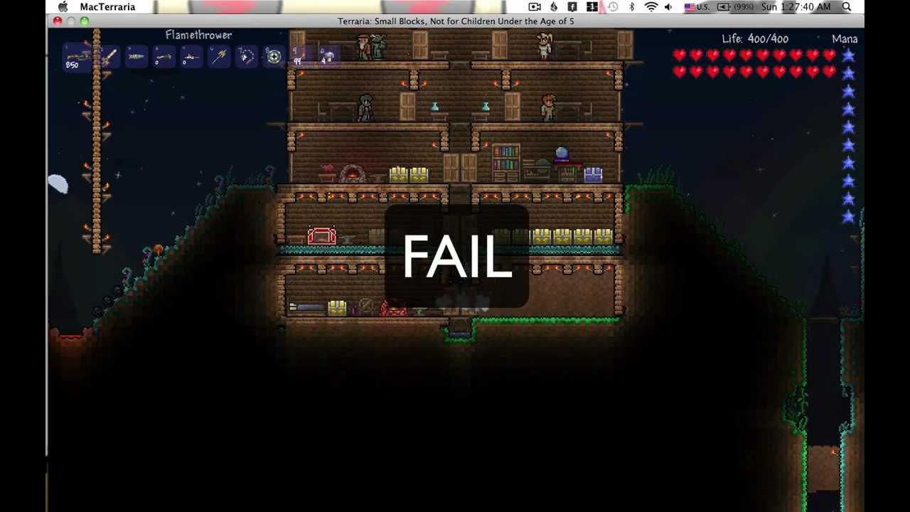 Terraria tour of my epic house youtube for Epic house music