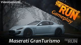 Need For Speed: The Run | Maserati GranTurismo MC Stradale Gameplay | Italian Car Pack DLC [HD]