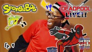 Spongebob Vs Deadpool Live - Cartoon Beatbox Battles