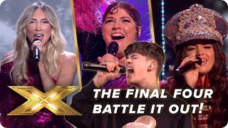 The AWESOME final four | X Factor: Celebrity
