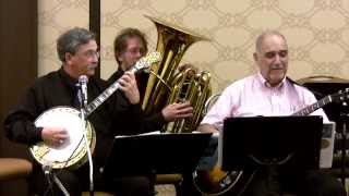 Five Foot Two ~ Steve Caddick at New England Jazz BanjoFest 2013