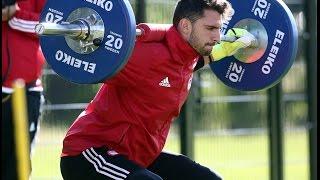 Aσκήσεις δύναμης - ταχυδύναμης των τερματοφυλάκων  / Speed power - strength exercise for goalkeepers