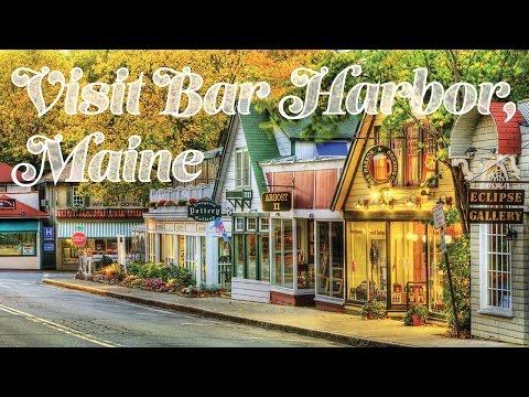 Bar Harbor, Maine Shops