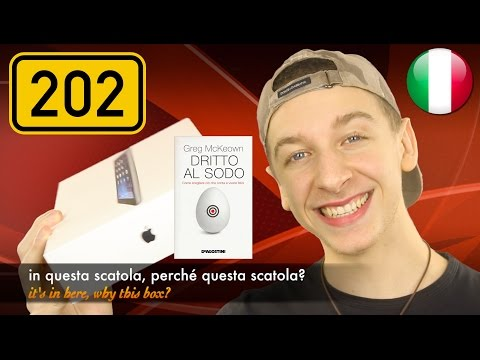 #LearnItalianShow Ep. 202 - Dritto Al Sodo #LIBRODELGIORNO