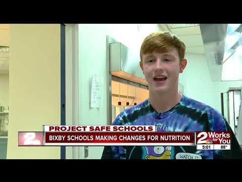 Bixby schools making changes for nutrition