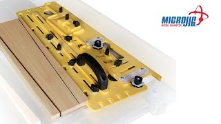Infinity Cutting Tools - Micro Jig Microdial Tapering Jig