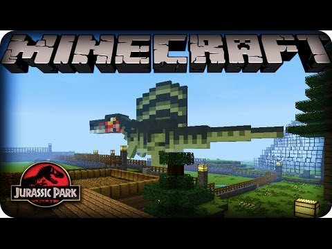 Minecraft Dinosaurs Mod SEASON Ep SPINOSAURUS GOT HUGE - Minecraft dino spiele