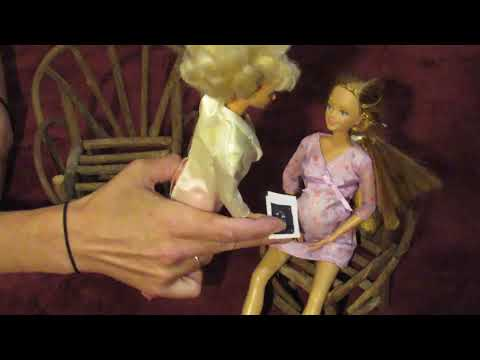 Pregnant Jennifer's Gender Reveal Video (feat. Dr. Barbie & Midge)