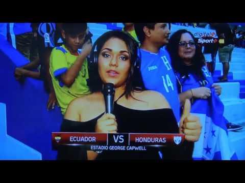 PARTIDO AMISTOSO - ECUADOR VS HONDURAS