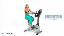 TRUE Workout Series - ES900 Upright Bike Workout