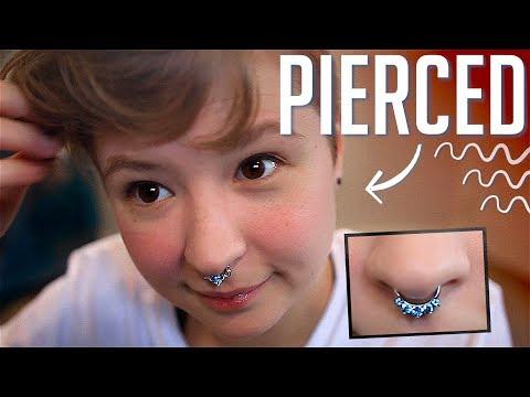 Surprise, I Pierced my Septum :)