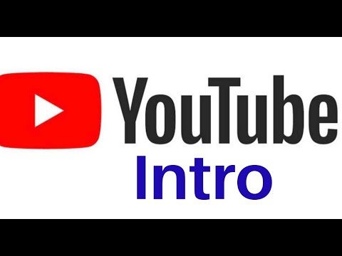 YouTube Intro Easy And Free..