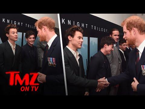 Harry Styles and Prince Harry Meet! | TMZ TV