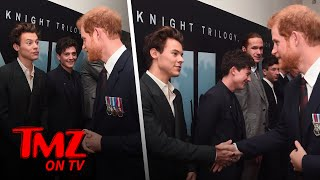 Harry Styles and Prince Harry Meet! | TMZ TV