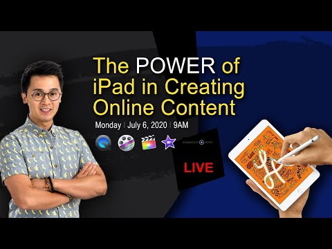 THE POWER OF IPad IN CREATING CONTENT ONLINE