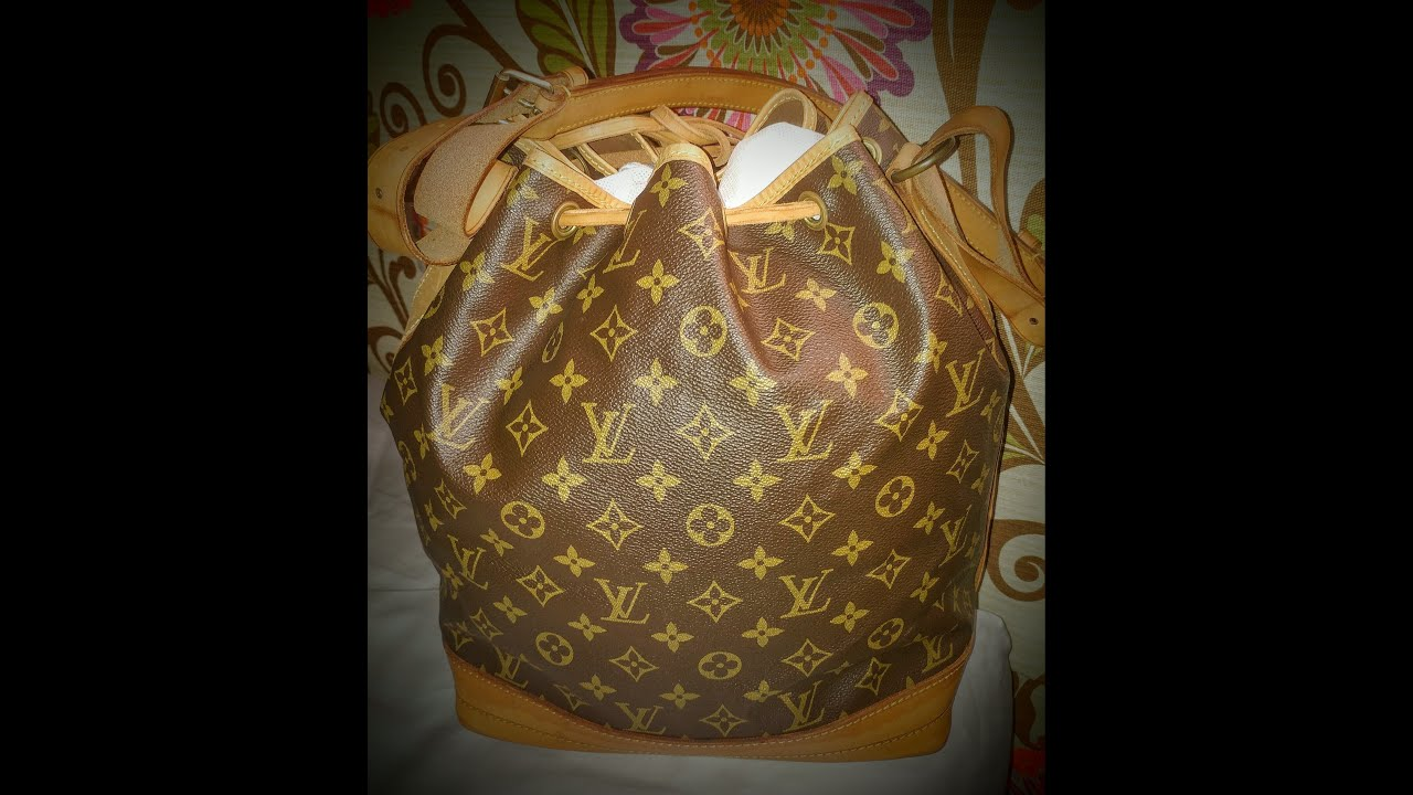 Vintage Louis Vuitton Noe Unboxing 1970 s or so - YouTube 2b1c27951f8e8