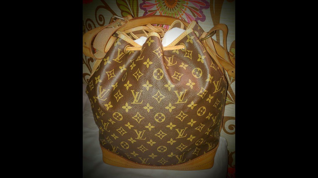 05991c956cf1 Vintage Louis Vuitton Noe Unboxing 1970 s or so - YouTube