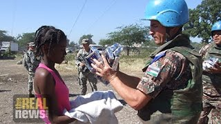 UN Peacekeepers in Haiti Force Girls to Trade Sex for Food, Medicine