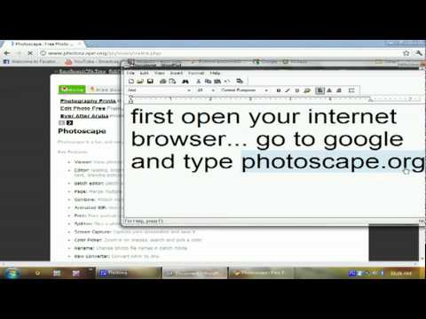 How to Download Photoscape For Free Tutorial - YouTube